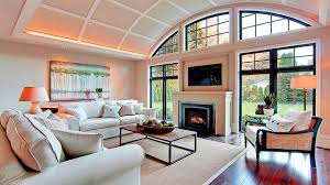 Amazing living room with TV Fireplace Design Ideas