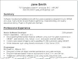 Resume Synopsis Example Summary Samples Examples Statement