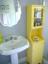 Yellow Gray And Teal Bathroom by Yellow And Gray Bathroom Orange And Gray Bathroom Yellow And Gray