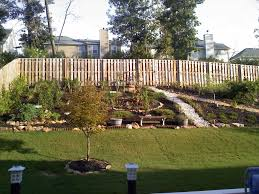 Landscaping Ideas For Front Yard Hill | Fleagorcom Landscape Sloped Back Yard Landscaping Ideas Backyard Slope Front Intended For A On Excellent Tropical Design Tampa Hill The Garden Ipirations Backyard Waterfall Sloping And Gardens 25 Trending Ideas On Pinterest Slopes In With Side Hill Landscaping Stones Little Rocks Uk Cheap Post Small