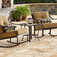Patio Furniture Sets Sears by La Z Boy Outdoor Landon 3 Piece Bistro Set Limited Availability