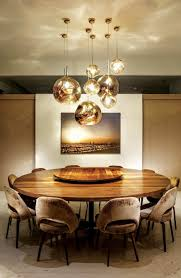 Small Dining Room Lighting Charming Within 23 Unique Contemporary