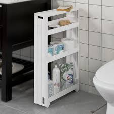 sobuy rollwagen nischenregal küchenregal badrollwagen ordnungswagen frg242 w