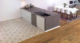 sol cuisine carrelage de cuisine de sol en ciment motif victorien 137