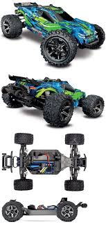 100 Traxxas Trucks For Sale Cars And Motorcycles 182183 Rustler 4X4 Vxl Green 1