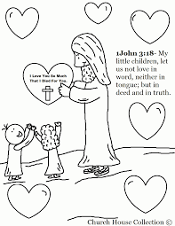 Love One Another Coloring Pages In Page