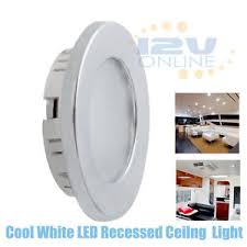 12v 70mm led recessed ceiling light rv kitchen cabinet l