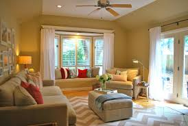 bay window drapes curtain ideas how to decorate a inwindow in the