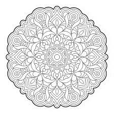 Elegance Mandala Colouring Pages