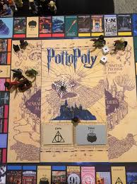 Picture Of How To Make A Harry Potter Monopoly Board Game