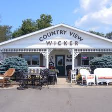 country view wicker wicker furniture amish country insider