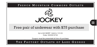 2019 Coupons – French Mountain Commons And Log Jam Outlet ...