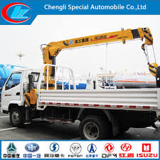 10m High Up Truck Mounted Crane/ 4x2 Engineering Truck Mounted Crane ...