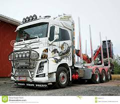 100 Scorpion Truck Volvo FH16 Logging With Ponsse Editorial Stock Photo