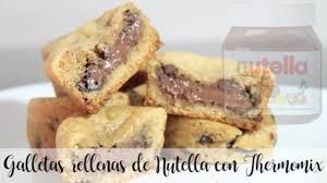 gefüllte nutella kekse mit thermomix