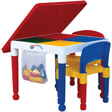 Kidkraft Heart Kids Table And Chair Set by Tot Tutors 2 In 1 Construction Table And 2 Chairs Toys R Us