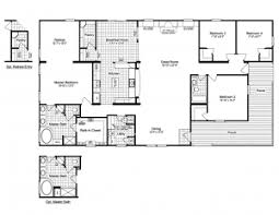 Triple Wide Modular Homes Floor Plans by House Plan View The Evolution Triplewide Home Floor Plan For A