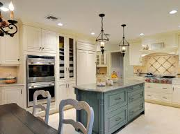 Kitchen Calming Traditional Country With Classic Gray Island And Wall Mounted Appliance Inspiration For Elegant