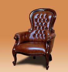 siege capitonné churchill fauteuil de cuir capitonné