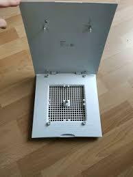 maico ventilatorabdeckung abdeckung lüftung bad wc weiß wie neu