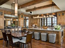 Image Of Rustic Kitchen Table Sets Decor