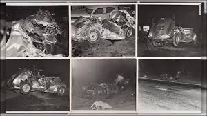 100 James Deans Neverreleased Photos Of Fatal Crash Up For Auction