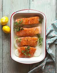 cuisson saumon à table