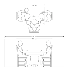 Table Dimensions Standard Dining Dimension