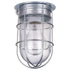 canarm ceiling wall barn light with cage 120v model bl04cwg