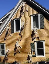 Skeletons Climbing On A Houseso Cool These Are The BEST Halloween