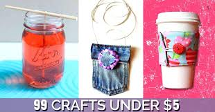 Awesome Crafts You Can Make For Less Than 5 Easy Diy Girls Craft Craftsman
