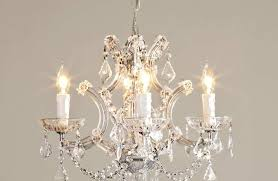 Chandelier Small Crystal Pendant Lighting Metal Flush Mount Bronze Cheap Acrylic White Orb Light Fixture Bedroom Chandeliers Girls Pink Hanging