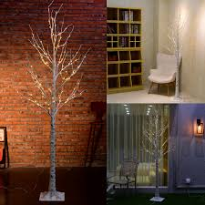 5ft Christmas Tree With Led Lights by 5ft 6ft Pre Lit Led Christmas Birch Twig Festival Wedding