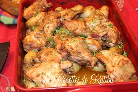 les recette de cuisine poulet rôti et pommes de terre au four recette de samira tv