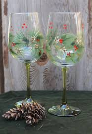 Spode Christmas Tree Glasses by 518 Best Holiday Glass Painting Ideas Images On Pinterest Glass