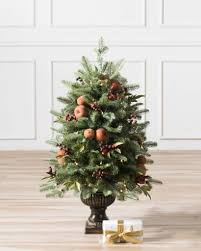 Potted Christmas Trees For Sale by Orchard Harvest Potted Artificial Christmas Tree Balsam Hill