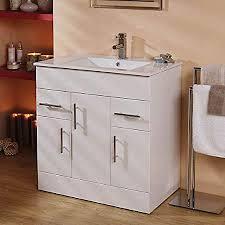 Buy Cera Cabinet White Ceramic Wash Basin Online Basins