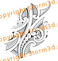 Maori Forearms Tattoos Design Flash