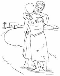 Beautiful Prodigal Son Coloring Page 41 In Free Colouring Pages With