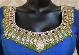 Jewellery Work Blouses | Sarees Villa Bresmaid Jewelry Ideas How To Choose For Bresmaids Bold Design Ideas To Make Pearl Necklace Making With Beads Diy New What Is Projects Cool Home Luxury Under Make Embroidered Patches Blouses And Sarees At Jewellery Work Villa 265 Best Moore Jewelry Images On Pinterest Making Design An Ecommerce Website Xmedia Solutions Blog Decorating A Small Bedroom Decorate Really Learn How Jewellery Home With Insd Let Us Publish Backyards Woodworking Box Plans Free Download