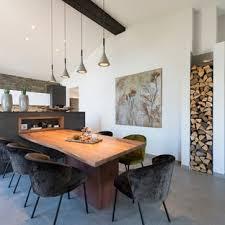 75 moderne esszimmer mit kaminumrandung aus metall ideen