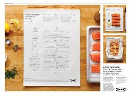 cuisine ikea promotion สะท อนความง ายสไตล ikea cook this page สอนทำอาหารด วยกระดาษแผ น