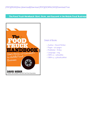 100 Starting Food Truck Business FREE PDF DOWNLOAD The Handbook Start Grow And