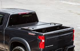 100 65 Gmc Truck RDJ S TravelPRO Series Hard Aluminum TriFolding Bed Tonneau Cover Fits Chevrolet SilveradoGMC Sierra 1500 2019 New Body