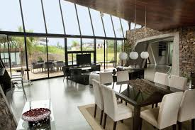 100 Glass Walls For Houses Open Plan Two Homes In Luque Paraguay By Bauen