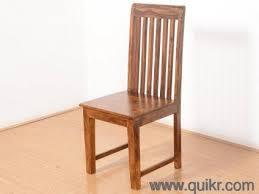 Dining Chair Made Of Sheesham Wood Natural Finish