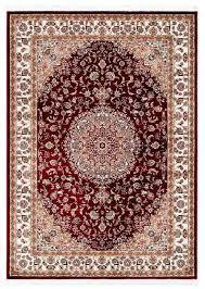 casa padrino teppich mit orientalischen ornamenten rot mehrfarbig verschiedene größen wohnzimmer teppich