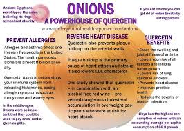 And Is What Makes Them Good For You They Are Helpful With Allergies Heart Disease Arthritis Many Other Things So Add Some Onions To Your Dishes