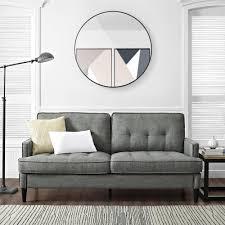 Target Grayson Convertible Sofa by Dorel Living Dorel Living Marley Sofa Gray
