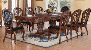 Cleopatra Dining Table W Optional Chairs Buffet With Hutch